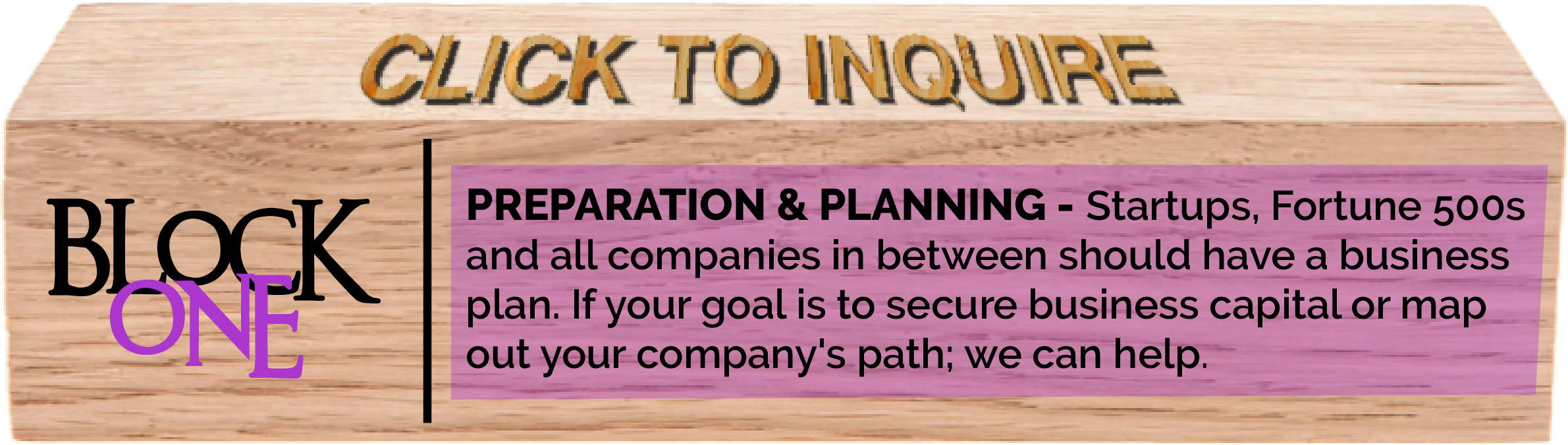 Preparation and Planning