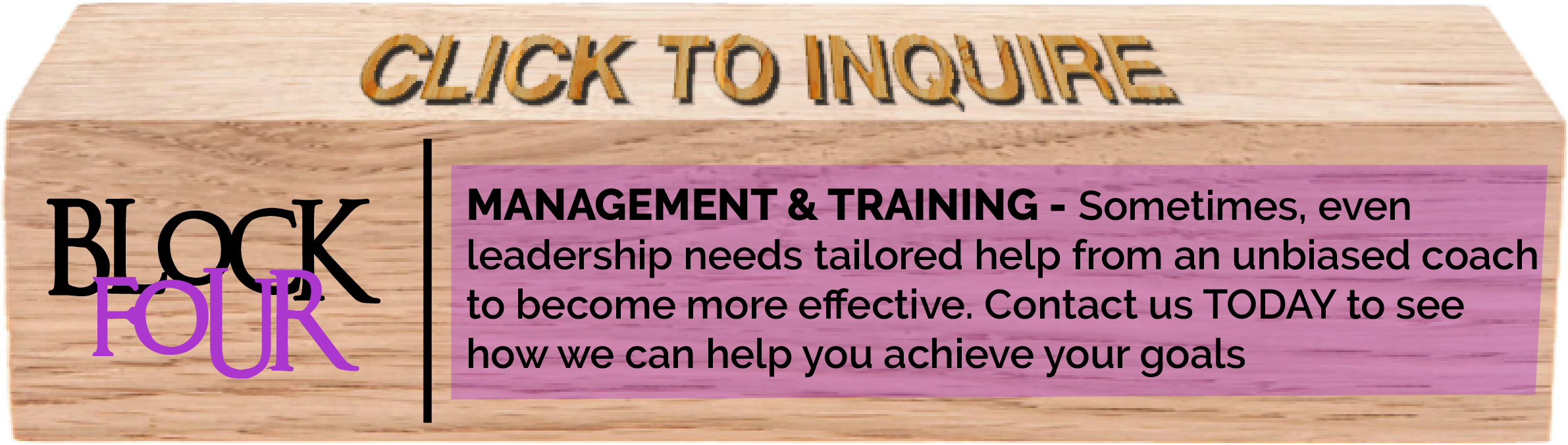 Management and Training